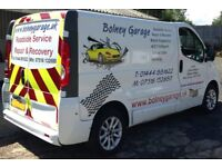 Bolney Garage, Servicing, Roadside service, Repair & Recovery