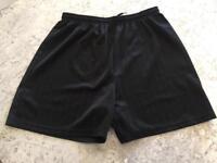 Black boys sports shorts