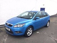 🌸Showroom condition 2009 Ford Focus 1.6 Zetec,One owner from new,3 month warranty