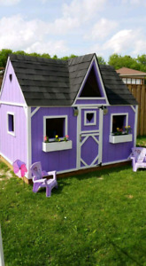 CUSTOM KIDDIE COTTAGES / PLAYHOUSES