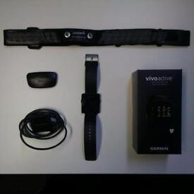 Garmon Vivoactive Smartwatch & HR Monitor