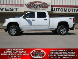 2011 GMC SIERRA 2500HD SLE Z71 4X4, DURAMAX, LOADED, FLAWLESS, S