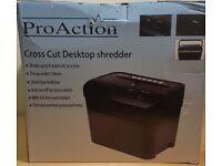 Cross cut Desktop 8sheet shredder A5