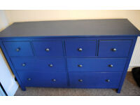 8-drawer chest - Ikea Hemness - as new
