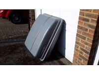 Large car roof box