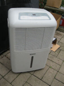 dehumidifier 65 pints a day Kenmore