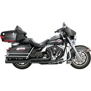 New Vance & Hines Pro Pipe 2 into 1 Black for 1999-2008 Harley