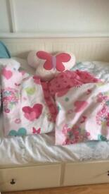 Single Quilt set and fitted sheet and pillow