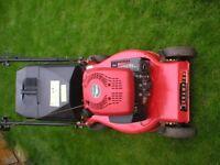 Champion Petrol Lawnmower in GWO