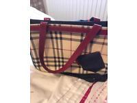 Genuine Burberry hand bag