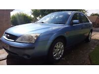 FORD MONDEO - 52 PLATE