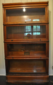 Wanted: Barrister (Lawyer) stacking bookcase