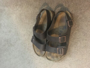 Men's size 11 Birkenstock sandals