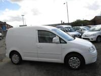 VOLKSWAGEN CADDY 69PS SDI (white) 2008
