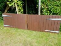Drive way gates can deliver locally
