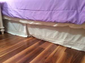 Victorian Bed Skirt for Double Bed for Sale