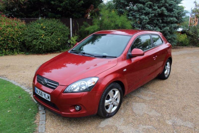 CHEAP CAR - 2008 58 KIA CEED 1.6 PRO CEED 2 3D 121 BHP