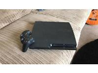 PS3 slim 320gb with three games