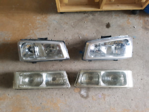 Silverado clear corner headlights & marker lights