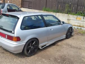 89 Honda civic turbo