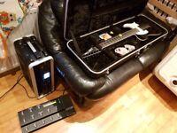 Line 6 POD HD Pro X + FBV Shortboard + Gator 3U rack case