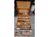 fantastic cabinet makers toolbox with tools