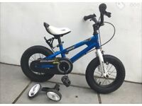 "Royal baby, blue 12"" bike for sale"
