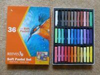 Art Materials: Pastels and Colouring Pencils