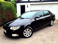 **STUNNING** 2010 SKODA SUPERB S 1.8 TSI BLACK 5 DOOR MANUAL PETROL SALOON 160 BHP
