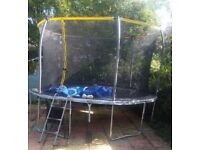 Sports power 12ft trampoline for sale