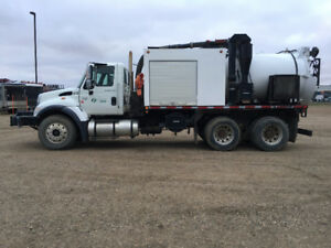 2007 International Hydro Vac for Sale