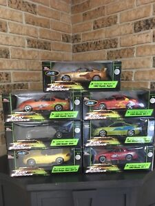 7 Brand new in box fast and the furious cars!!!