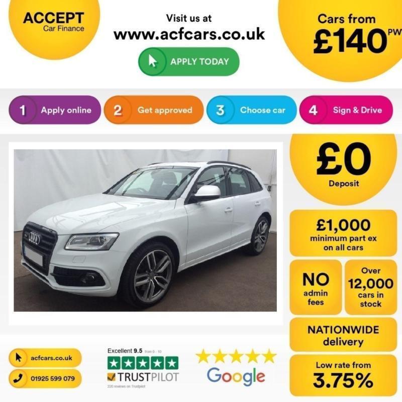 Audi SQ5 FROM £140 PER WEEK!