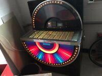 """Jukebox Seeburg Sunstar STD3 1977 uses 7"""" 45's"""