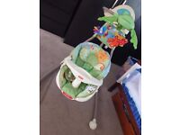 As new Fisher price swing chair