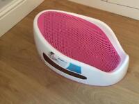 Angel Care baby pink bath seat