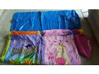 Childrens Ready Bed with 2 covers