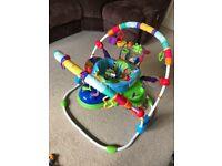 Baby Einstein Neighbourhood Friends Activity Baby Jumper - AS NEW