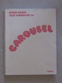 """Rodgers & Hammerstein """"Carousel"""" book piano sheet music"""