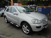 2006 56 MERCEDES ML 320 3.0 CDI SPORT AUTOMATIC IN SILVER # FSH SAT NAV #