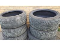 4 x Accelera Part Worn tyres. 275 40 20 For Sale