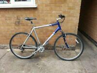 Mens Lightweight Barracuda Hardtail Hybrid Bike In Good Condition