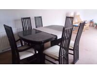 Complete living and dining room set
