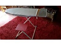 Sit Down Ironing Board - yes really! folds for storage, ideal if you cant stand for long