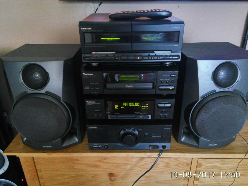 Technics SE CH540 Hifi Systemin Hull, East YorkshireGumtree - Technics stereo amplifier SE CH540 Technics Tuner/Sound Processor ST CH540 Technics Compact Disc Player SL CH570 Technics Stereo Cassette Deck RS CH770 Technics remote controll Speakers Philips text only