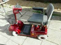 Mobility scooter with charger