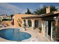 Holiday villa costa blanca