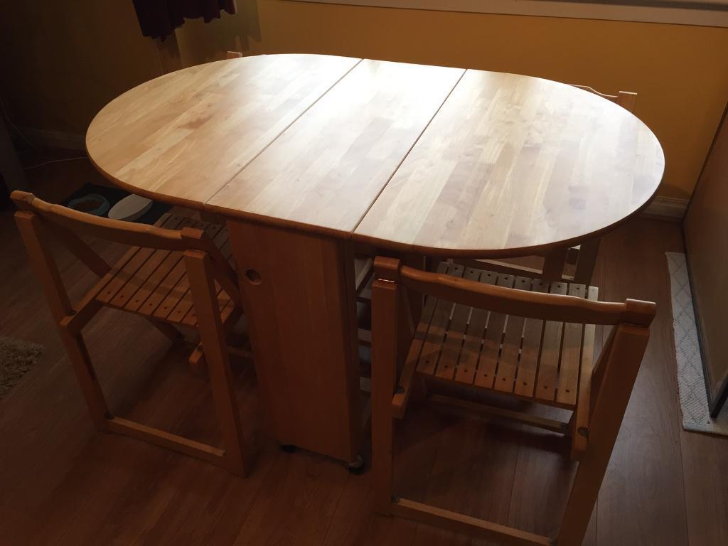 Good Quality Butterfly Drop Leaf Folding Dining Table And
