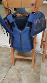 Equestrian body protector (Rodney Powell - childs)