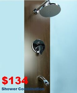 Up to 60% OFF!  Vanoon three pieces Shower Head & Combination